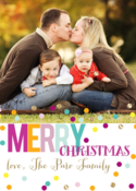Image of Merry Glitz Holiday Card
