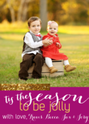 Image of Tis the Season...for GLITTER! Holiday Card