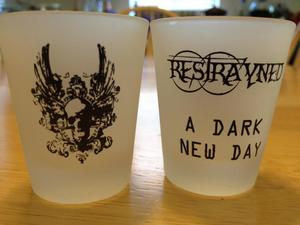 "Image of Restrayned - Shot Glass ""A Dark New Day"""