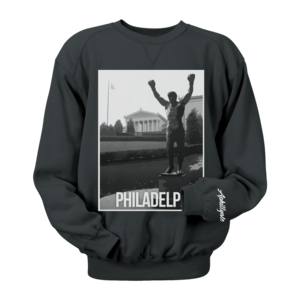 Image of Philadelphia Landmark Crewneck (Black)