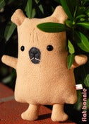 "Image of Flat Capy the Capybara Plush (Classic 10"") Handmade"