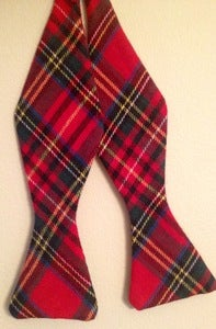 Image of Bold Red Plaid
