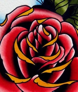 Image of Rose painting 2