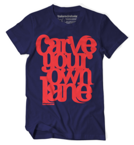CARVE YOUR OWN LANE (Navy)