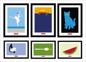 Image of Set of 6 Posters 