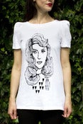 Image of Sylvia face t-shirt
