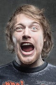 Image of Danny Worsnop - The Face - limited editon 8x12