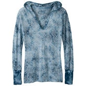 Image of prAna Julz Hoodie Blue Spruce 