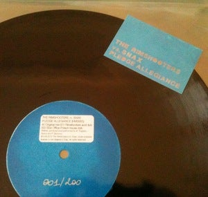 "Image of Vinyl 12"" : The Rimshooters vs. Snax - Pledge Allegiance (EP)"