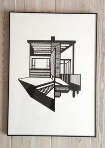 Image of Bauhaus Lithography Black