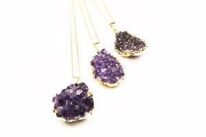 Image of GLORIOUS Amethyst pendant