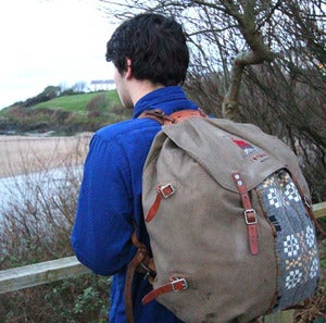 Image of Utility rucksack fforest warmth 'twymder'