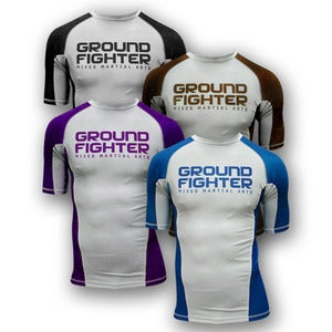 Image of Ground Fighter Ranked Rash Guards