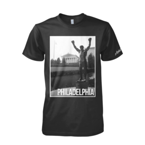 Image of Philadelphia Landmark Tee (Black)