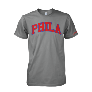 Image of PHILA Tee (Grey)