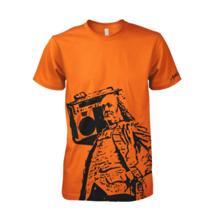 Image of Ben Jammin' Tee (Orange)