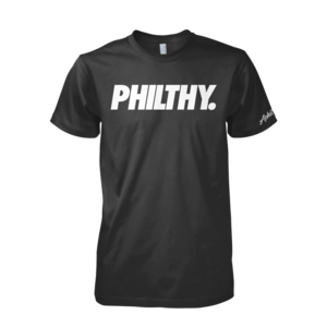Image of PHILTHY Tee (Black/White)