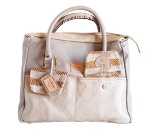 Image of Fagunwa Grey shimmers bag