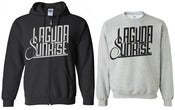 Image of Laguna Sunrise - Logo Zip Up Hoodie / Sweatshirt