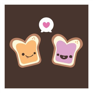 Image of Peanut Butter & Jelly Wall Art