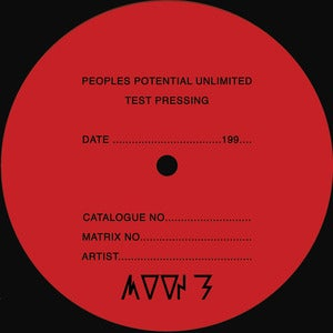 Image of MOON B / UNTITLED / PPU TEST PRESSING SERIES VOL.1 LP