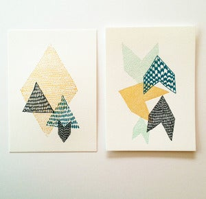 Image of Leah Duncan // Satsuma Press Letterpress Print Set