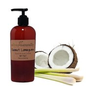 Image of Coconut Lemongrass - 8oz Hand & Body Lotion - NUT FREE