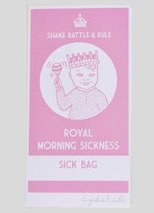 Image of Baby Pink Sick Bag