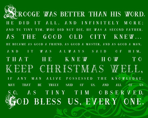 Image of God Bless Us-Evergreen