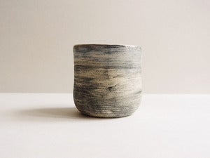 Image of Grey Textured Tea Cup I