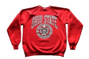 "Image of Men's D.Fame Custom ""Ohio State University"" Crewneck"