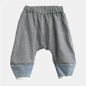 Image of Monkey Pants - Charcoal Oxford