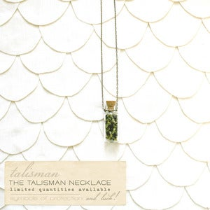 Image of Chartreuse Talisman Necklace