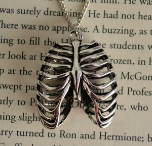 Image of Anatomical Rib Cage Necklace