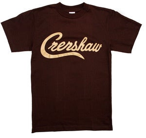 Image of Crenshaw T-Shirt (Brown/Tan)