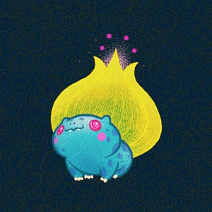 Image of Neon Bulbasaur