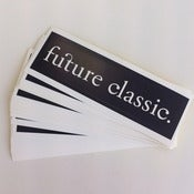 Image of Future Classic Stickers - Black