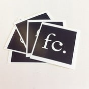 Image of FC Stickers - Black