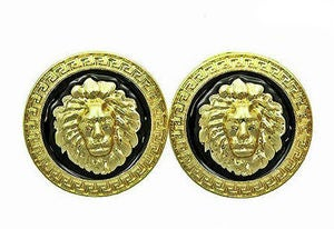 Image of lioness stud earrings
