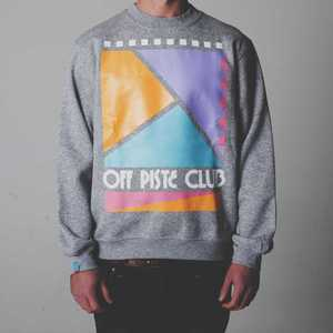 Image of Off Piste Club  | Grey Sweatshirt