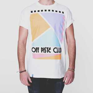 Image of Off Piste Club | White T-Shirt