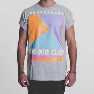 Image of Off Piste Club | Grey T-Shirt
