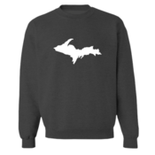 Upper Peninsula Crewneck - Heather Gray