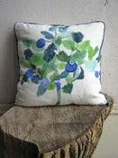 Image of Blueberries Pillow