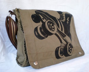 Image of Canvas Field Bag, Dark Khaki