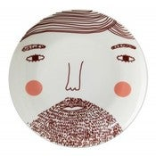 Image of Beardy Man Plate