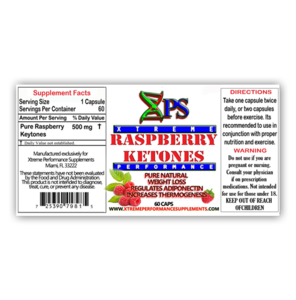 Image of XPS RASPBERRY KETONES