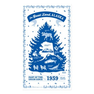 Image of Alaska State Towel