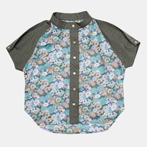 Image of Dress Shirt - Dark Flower