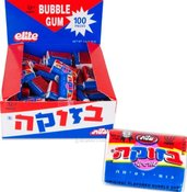 Image of BAZOOKA GUM - IN HEBREW & ENGLISH!!!